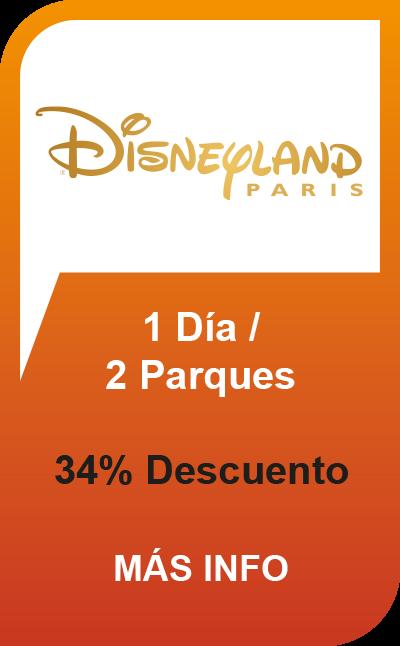Disneyland® Paris - 1 Día / 2 Parques