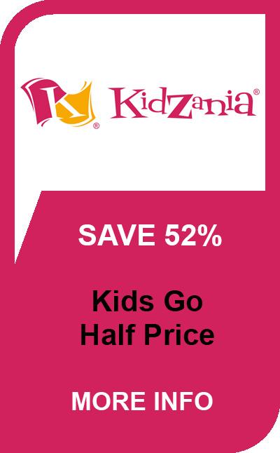 Kidzania half price