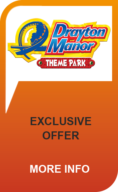 Drayton Manor tickets, offers and deals