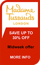 Madame Tussauds - Midweek Offer