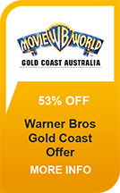 Save over 50% on Movie World Gold Coast Tickets