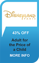Disneyland Paris Save 43%