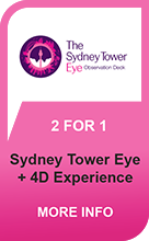 Sydney Tower Eye - 2 For 1