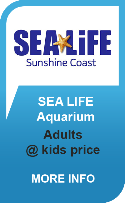 Sea Life Sunshine Coast - Adults @ Kids Prices