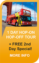 1 Day Hop-on Hop-Off Tour - Free 2nd Day Special