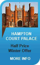 Hampton Court Palace 50% Off Now till Feb 14th