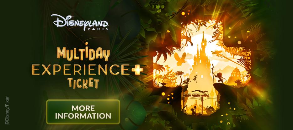 Disneyland Paris - Multiday Experience + Ticket